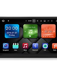 7 pouces 2din quad core android 6.0.1 voiture multimédia audio gps système de lecteur 2gb ram avec wifi 3g ex-tv dab universal dy7098