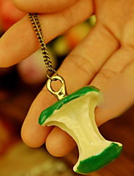 Pendant Necklaces Women's Sweater Chain Dangling Pendant Acrylic Birthday Party Gift Green