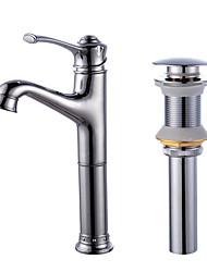 Mittellage Ein Loch for  Galvanisierung , Waschbecken Wasserhahn
