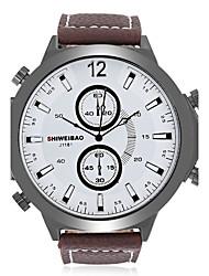 Homens Adulto Relógio Esportivo Relógio de Moda Relógio Casual Relógio de Pulso Único Criativo relógio Chinês QuartzoCalendário