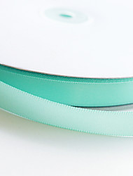 Mint Blue 4/8 x 100Y Polyester Ribbon Beter Gifts® Packaging Material Collection