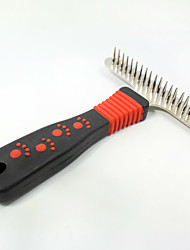 High Quality Pet Comb Stainless Steel Cat Dog Combs Beauty Clean Products Pet Hair Removal Brush Dog Products