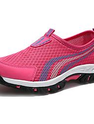 Для женщин Спортивная обувь Удобная обувь Светодиодные подошвы Полиуретан Лето Осень Для прогулок Повседневный Для занятий спортомДля