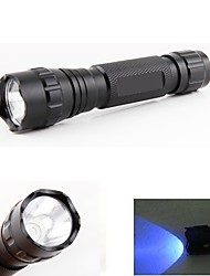 WF-501B 500 Lumens 1 Mode UV LED Flashlight Light Lamp