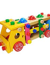 Tue so als ob du spielst Sets zum Selbermachen Bausteine Bildungsspielsachen Für Geschenk Bausteine Naturholz6 Jahre alt und höher 3-6