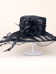 Organza Celada-Boda Ocasión especial Casual Oficina Sombreros 1 Pieza