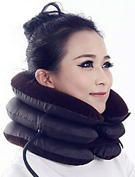3 Layers Lint Inflatable Air Portable Cervical Vertebra Neck Head Brace Support Traction Collar Massager Health Care
