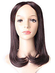 European Style Straight Ombre 2-33 Synthetic Wigs 2 Tone Ombre Color capless Wig