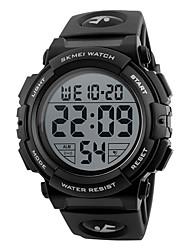 Hombre Reloj Deportivo Reloj de Vestir Reloj Smart Reloj de Moda Reloj de Pulsera Reloj creativo único Chino Digital LCD Con regla