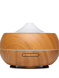 New Ultrasonic Intelligent Mute Wood Grain Fragrant Machine Large Capacity 300 ML Creative Wood Grain Air Humidifier