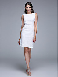 Fourreau / Colonne Bateau Neck Mi-long Pailleté Soirée Cocktail Promo Robe avec Paillettes par TS Couture®