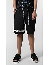 Pánské Jednoduchý Šik ven Aktivní Punk & Gothic strenchy Volné Kalhoty chinos Kalhoty Volný Volné Mid Rise Velkoformátové Jednobarevné