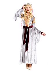 Косплэй Kостюмы Костюм для вечеринки Королева богиня Косплей Фестиваль / праздник Костюмы на Хэллоуин ВинтажПлатья Пояс на талию