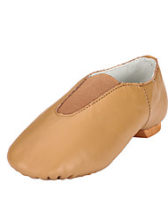 Kids' Jazz Leatherette Flats Performance Flat Brown Black