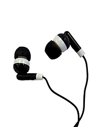 In-Ear Earphone with Noise Reduction for iPod/iPod/phone/MP3 (Black)