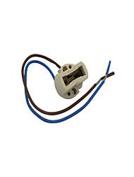 G9 led stripline lampe de protection en céramique fil à haute température résistant aux rayons 20cm