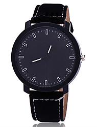 Hombre Reloj de Vestir Reloj de Moda Reloj creativo único Reloj Casual Reloj de Pulsera Chino Cuarzo Piel Banda Encanto Casual Elegantes