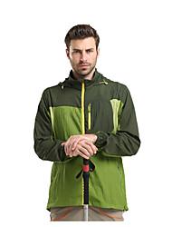 Муж. Куртка для туризма и прогулок Отдых и туризм Быстровысыхающий Дышащий Защита от солнца Ультратонкий Ветроустойчивый Верхняя часть для