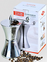 Manual Stainless Steel Coffee Bean Grinder Hand Shaker Machine