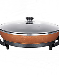 Double-tube High-thick Korean-style Multi-functional Square Electric Hot Pot