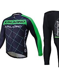 ILPALADINO Calça com Camisa para Ciclismo Unisexo Manga Longa Moto Camisa/Roupas Para Esporte Conjuntos de Roupas Blusas Prova-de-Água