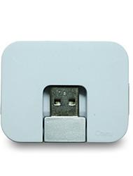 Akasa 00998 hub usb2.0 4 порта 480 Мбит / с высокоскоростные 4 цвета доступны