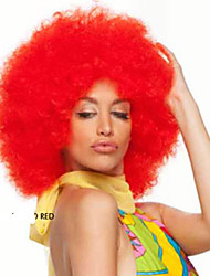 Afro Jumbo Festival Fans Wig clown Costume Halloween Dress Up party Wig Synthetic Hair COLOUR CHOICES
