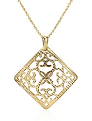 Women's Pendant Necklaces Jewelry Geometric Silver Plated Gold Plated Tin AlloyBasic Unique Design Tattoo Style Dangling Style Pendant