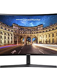 Samsung monitor de computador curvo 23,5 polegadas va 1800r visão fhd 1920 * 1080 hdmi vga