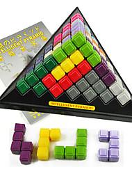 Blocos de Construir Blocos Lógicos para presente Blocos de Construir Triângulo Plásticos 6 anos e acima Brinquedos