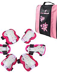 Infantil Material de Protecção Facilita a dor Respirável Skate