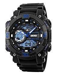 SKMEI Homme Montre de Sport Montre Militaire Montre Tendance Montre Bracelet Montre numérique Japonais QuartzLED Calendrier Chronographe