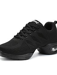 Damen Modern Tüll Sneakers Aufführung Flacher Absatz Weiß Schwarz 2,5 - 4,5 cm Maßfertigung