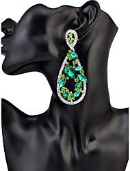 Mujer Pendientes colgantes CristalDiseño Básico Diseño Único Colgante Geométrico Amistad joyería película Joyería de Lujo Duradero
