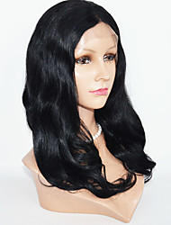 Peruvian Hair  Lace Front Wig Human Hair Body Wave Lace Front Wig For Woman