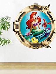 Животные Мультипликация Романтика Наклейки Простые наклейки Декоративные наклейки на стены материал Украшение дома Наклейка на стену