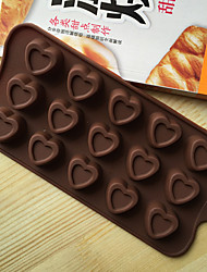 Cake Molds Novelty Heart-Shaped Cooking Utensils Bread Chocolate Cake Silica Gel Baking Tool High Quality Novelty