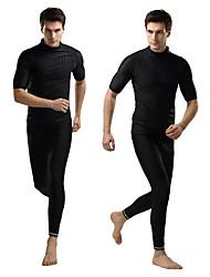 SBART Homme Femme Costumes humides Elasthanne Chinlon Tenue de plongée Demi Manches Combinaisons Hauts/Tops-Natation Sports Nautiques