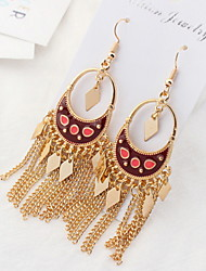 Women's Drop EarringsBasic Unique Design Animal Design Tassel Pearl Friendship Cute Style Euramerican Gothic Movie Jewelry Statement