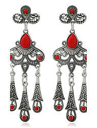 Women's Drop Earrings Acrylic Basic Tassel Personalized Alloy Jewelry For Dailywear Stage
