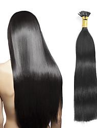 Fusion /с I-образным кончиком Расширения человеческих волос Наращивание волос
