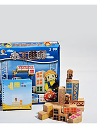 Building Blocks For Gift  Building Blocks Wooden 6 Years Old and Above 3-6 years old Toys