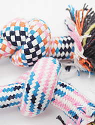 Dog Toy Pet Toys Ball Rope Cotton