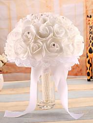 Свадебные цветы Букеты Свадебное белье Эластичный сатин Около 20 см
