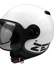 ZEUS 210cMotorcycle Helmet Electric Car Helmet Men And Women Four Seasons Fashion Retro Half Helmet 210c