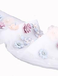 The Korean Flower Hair Band  Veil Decorative