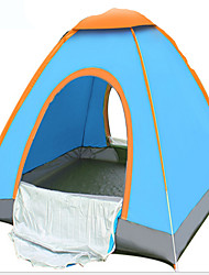 2 Personen Zelt Einzeln Falt-Zelt Einzimmer Camping Zelt 1000-1500 mm Terylen Silber BandSchnell trocken Belüftung Anti-tragen