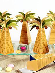12 Шт./набор Фавор держатель-ПирамидаКоробочки Мешочки Сувенирные шкатулки Горшки и банки для конфет Упаковка и коробки для кексов