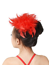 MiDee Dance Accessories Headpieces Children's Training Feathers Feathers /Fur