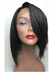 New Style Shart Bob Full Lace Human Hair Wigs with Baby Hair 130% Density Brazilian Virgin Human Hair for Black Women Natural Hairline Shipping Free